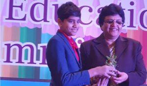 "Student Innovator Award"" at the CEGR- School Education Summit 2019"